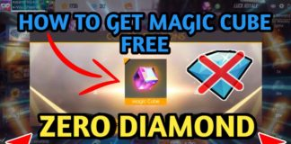 HOW TO GET FREE MAGIC CUBE