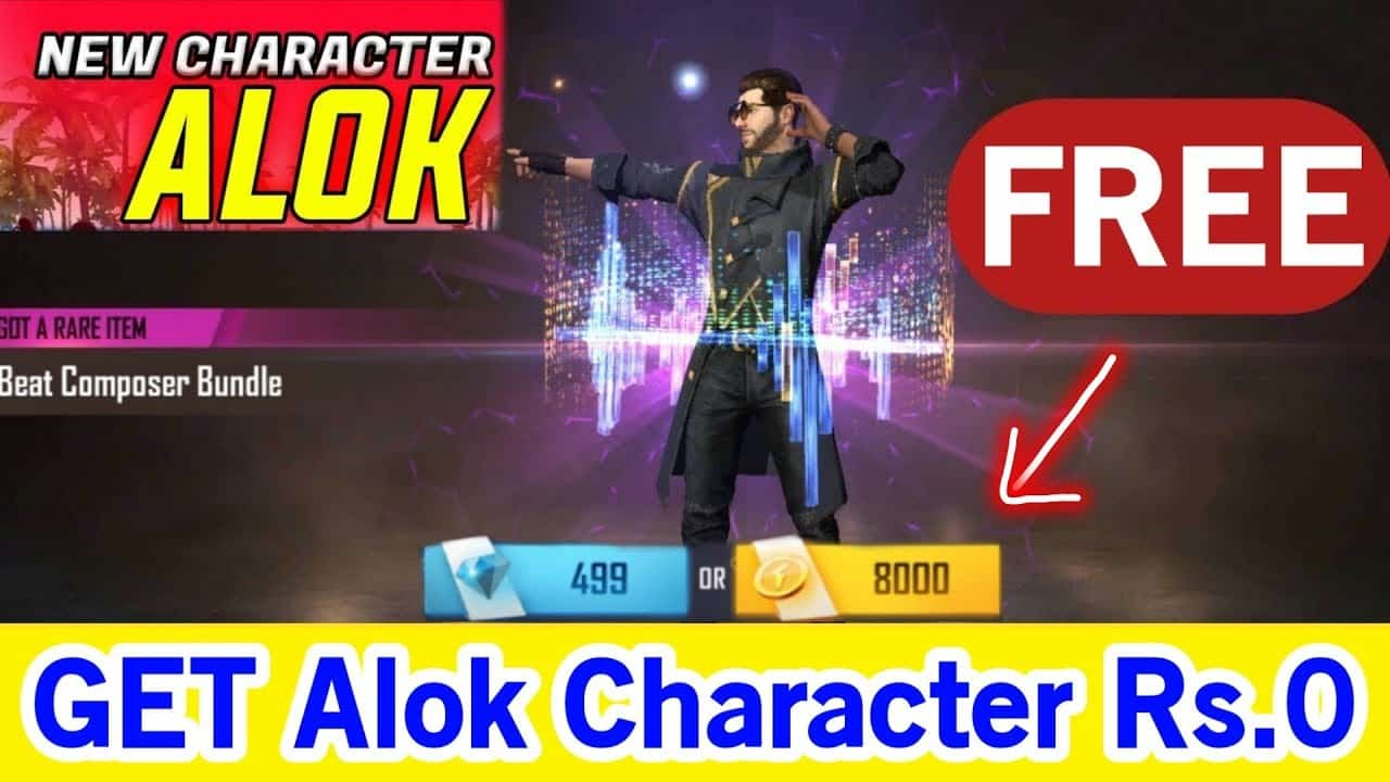 How To Get Dj Alok Free In Free Fire Pointofgamer