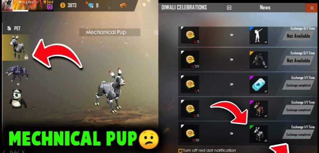 How To Get Pet In Free Fire Without Diamonds Pointofgamer