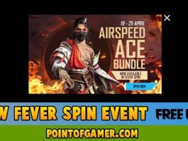 New Fever Spin Event In Free Fire
