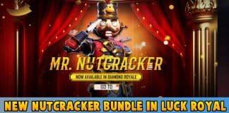 New Nutcracker Bundle In Luck royale free fire