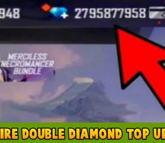 Free Fire Double Diamond Top Up Link